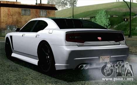GTA 5 Bravado Buffalo S v2 para GTA San Andreas left