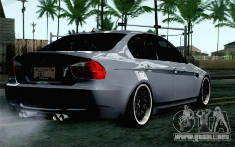 BMW M3 E90 Hamann para GTA San Andreas left