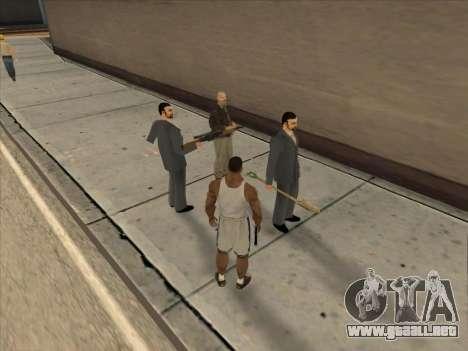 A los Rusos en el distrito Comercial para GTA San Andreas décimo de pantalla