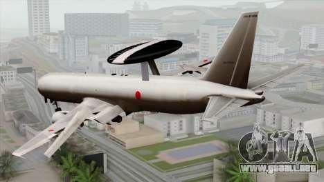 Boeing E-767 Japan Air Self-Defense Force EoJ para GTA San Andreas left