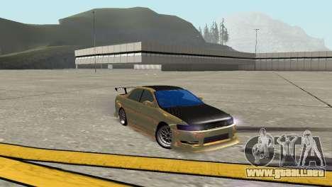 Toyota Mark II para GTA San Andreas vista posterior izquierda