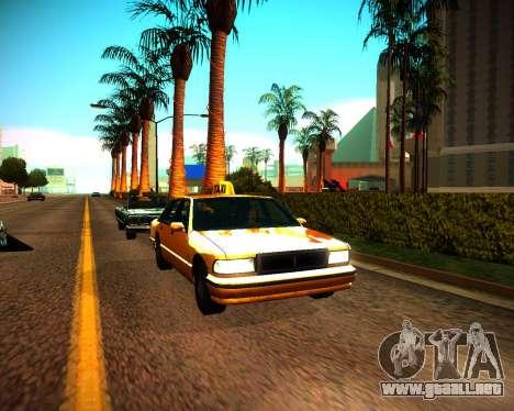 ENB GreenSeries para GTA San Andreas tercera pantalla