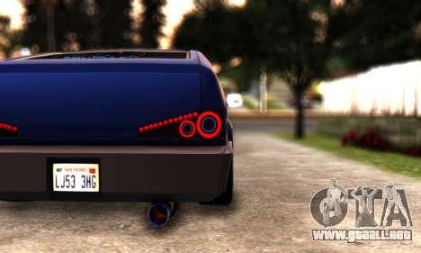 Blista Compact By VeroneProd para la visión correcta GTA San Andreas