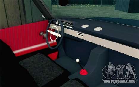 VAZ 21011 Hobo para la visión correcta GTA San Andreas