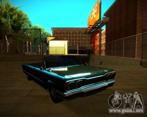 ENB GreenSeries para GTA San Andreas séptima pantalla