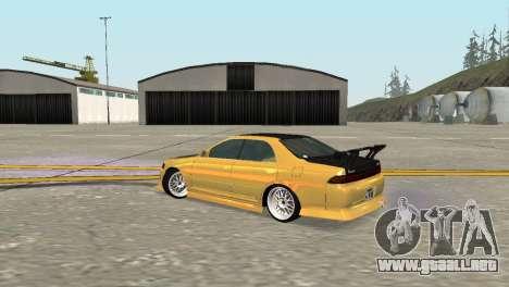 Toyota Mark II para la visión correcta GTA San Andreas