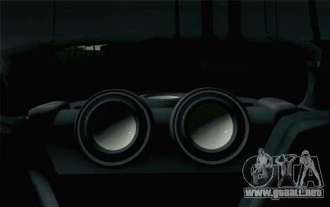 Mazda RX-7 Veilside Tokyo Drift para GTA San Andreas vista hacia atrás