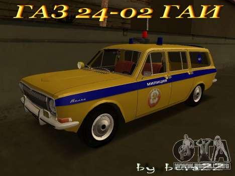 Volga 24-02 GAI para GTA San Andreas