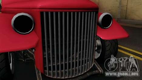 GTA 5 Bravado Rat-Truck IVF para la visión correcta GTA San Andreas
