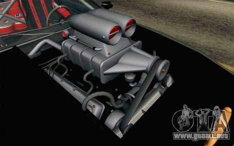 Elegy Modification para GTA San Andreas vista hacia atrás