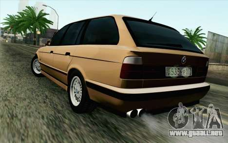 BMW M5 E34 Touring para GTA San Andreas left
