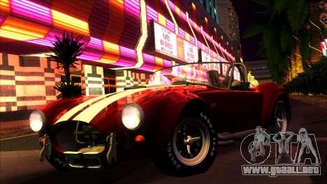 ENBSeries para PC débil v5 para GTA San Andreas sucesivamente de pantalla