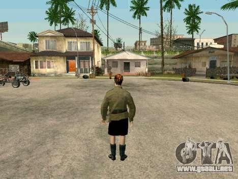 El sargento militar campo de la medicina para GTA San Andreas sucesivamente de pantalla