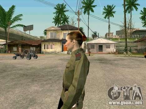 El sargento militar campo de la medicina para GTA San Andreas segunda pantalla
