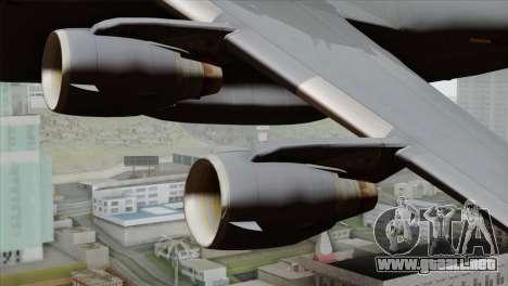 C-17A Globemaster III USAF Hickam para la visión correcta GTA San Andreas