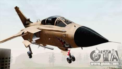 Tornado MIG Eater para GTA San Andreas vista hacia atrás