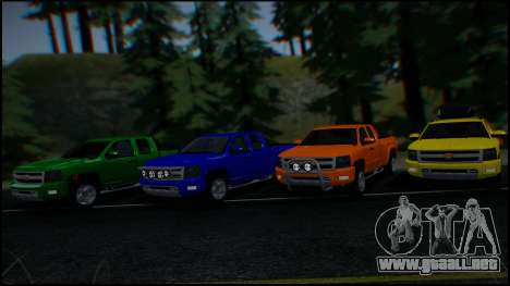 Chevrolet Silverado 1500 HD Stock para GTA San Andreas
