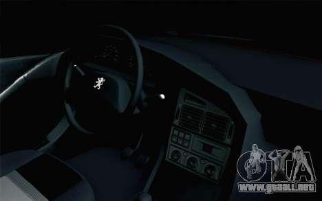 Peugeot 405 Tuning para la visión correcta GTA San Andreas