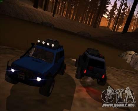 VAZ 2131 Niva 5D OffRoad para la visión correcta GTA San Andreas