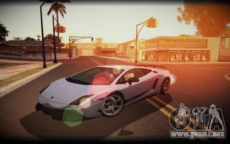 ENB for SA:MP v5 para GTA San Andreas segunda pantalla