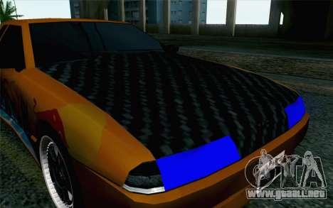 Nights Elegy para GTA San Andreas vista hacia atrás