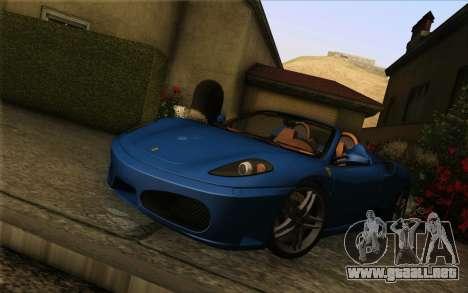 GTA 5 ENB by Dizz Nicca para GTA San Andreas sucesivamente de pantalla