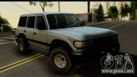 Toyota Land Cruiser 80 v1.0 para GTA San Andreas