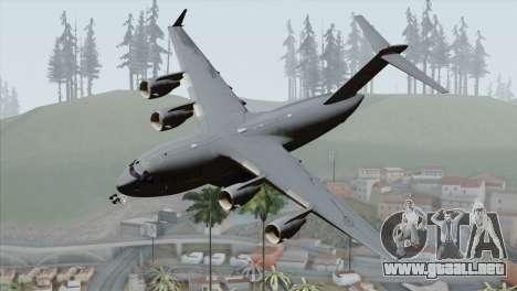 C-17A Globemaster III RCAF para GTA San Andreas