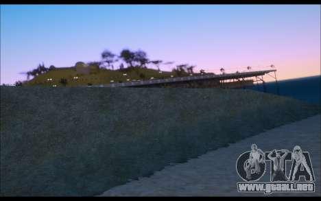 Realistic ENB V1 para GTA San Andreas quinta pantalla