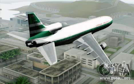 Lookheed L-1011 Cathay P para GTA San Andreas left