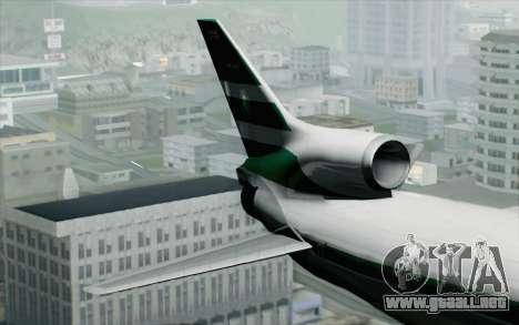 Lookheed L-1011 Cathay P para GTA San Andreas vista posterior izquierda