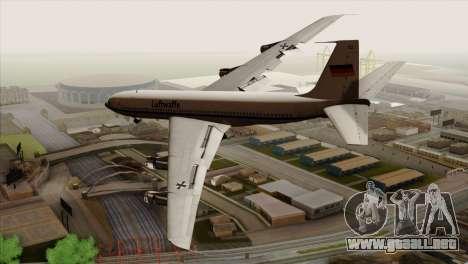 Boeing 707-300 Luftwaffe para GTA San Andreas left