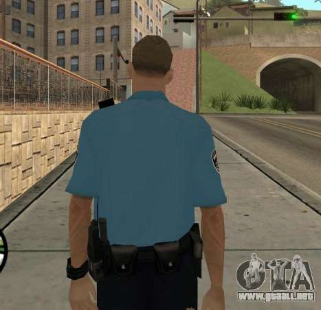 Israeli Police Officer para GTA San Andreas sucesivamente de pantalla