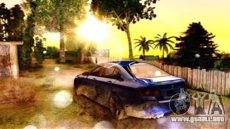 ENB for SA:MP v5 para GTA San Andreas sucesivamente de pantalla
