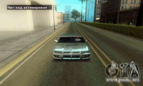 ENB Series Colorful for Low PC para GTA San Andreas segunda pantalla