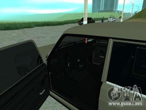 VAZ 2105 Lada para la visión correcta GTA San Andreas