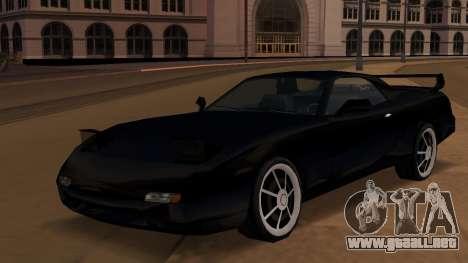 Beta ZR-350 Final para GTA San Andreas left