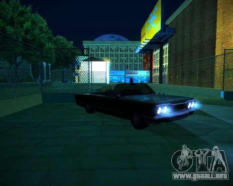 ENB GreenSeries para GTA San Andreas novena de pantalla