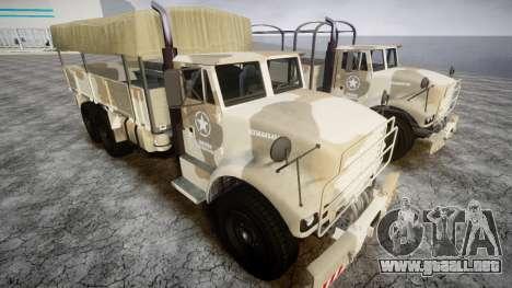 GTA 5 Barracks v2 para GTA 4 left