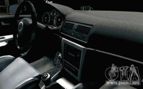 Volkswagen Golf Mk4 2002 Street Daily para la visión correcta GTA San Andreas