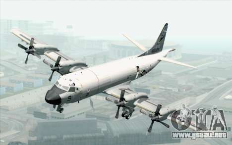 Lockheed P-3 Orion VP-11 US Navy para GTA San Andreas