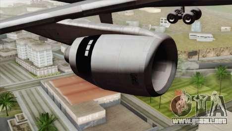 Lookheed L-1011 PSA para la visión correcta GTA San Andreas