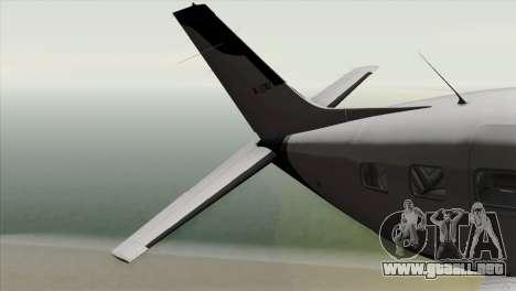 GTA 5 Velum para GTA San Andreas vista posterior izquierda
