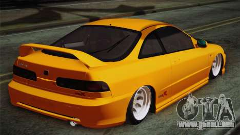Honda Integra Type R 2000 para GTA San Andreas left