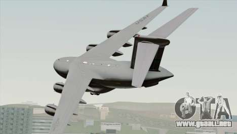 C-17A Globemaster III USAF McChord para GTA San Andreas left