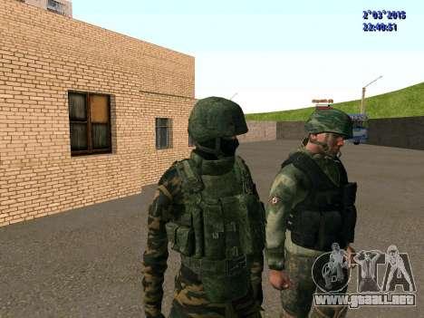 Guerrero batallón de Oriente para GTA San Andreas sucesivamente de pantalla