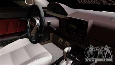 Honda Civic 1.6 para la visión correcta GTA San Andreas
