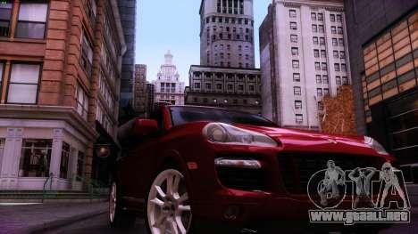 Lenoxx ENB para GTA San Andreas sucesivamente de pantalla