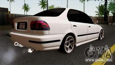 Honda Civic 1.6 para GTA San Andreas left