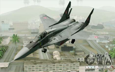 MIG-29 Polish Air Force para GTA San Andreas
